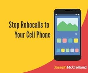 stop robocalls to your cell phone